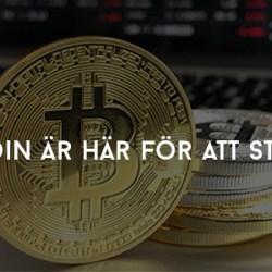 bitcoin är här för att stanna