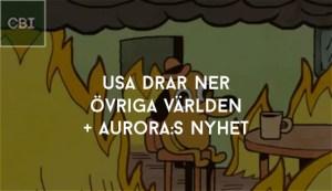 USA drar ner övriga världen - Auroras Nyhet