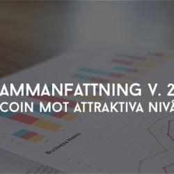 Bitcoin mot attraktiva nivåer