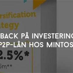 Cashback på investeringar i P2P-lån hos Mintos
