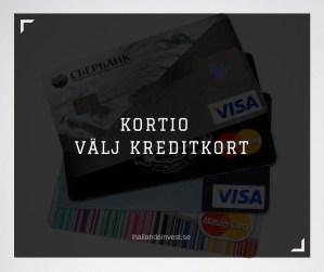 Kortio - Välja Kreditkort