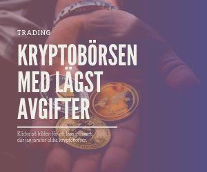Avgifter kryptovaluta bitcoin trading binance coindeal kraken investera handla kryptovaluta