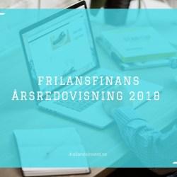 FrilansFinans Årsredovisning 2018