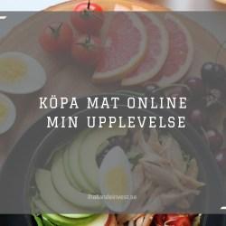 Köpa mat online MatSmart - Min upplevelse