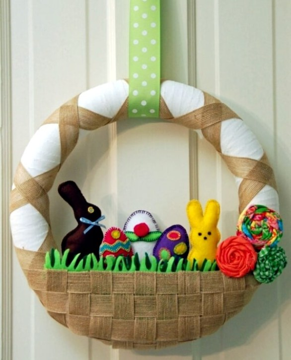 Easter Basket Decoration