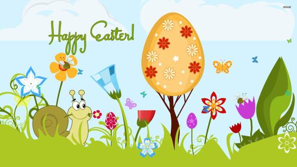 Happy Easter Desktop Wallpapers