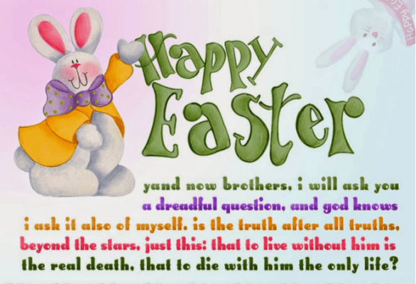 Happy Easter Messages Pictures