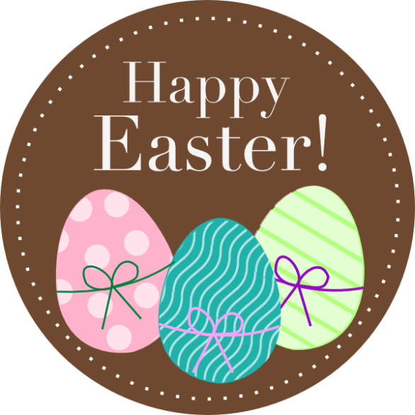 Happy Easter Eggs Images