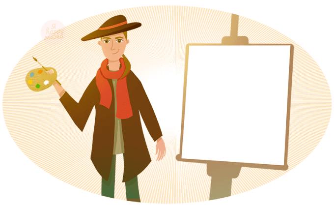 Детские загадки про художника
