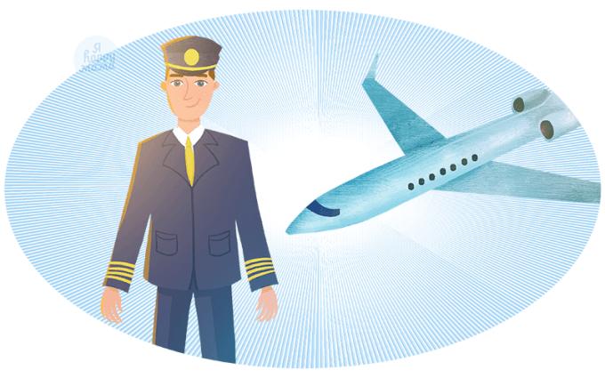 Загадки про пилота для детей