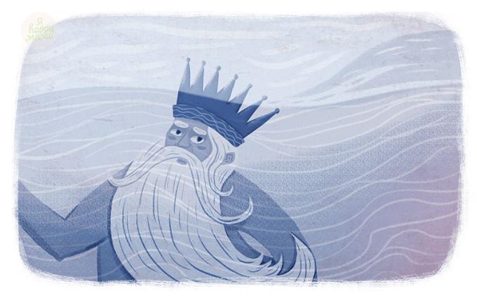 Сказка Морской царь и Василиса Премудрая