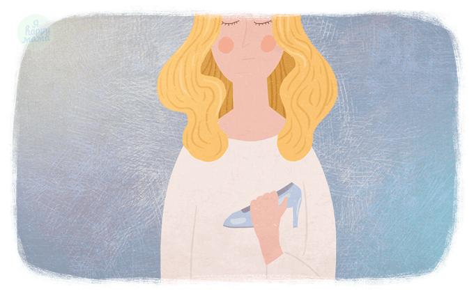 Сказка Золушка, или Хрустальная туфелька
