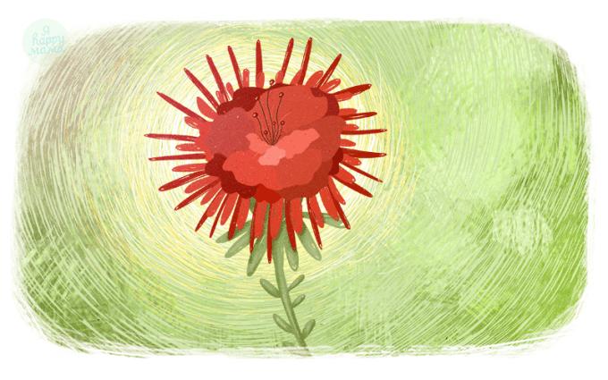 Песня Алый цветок