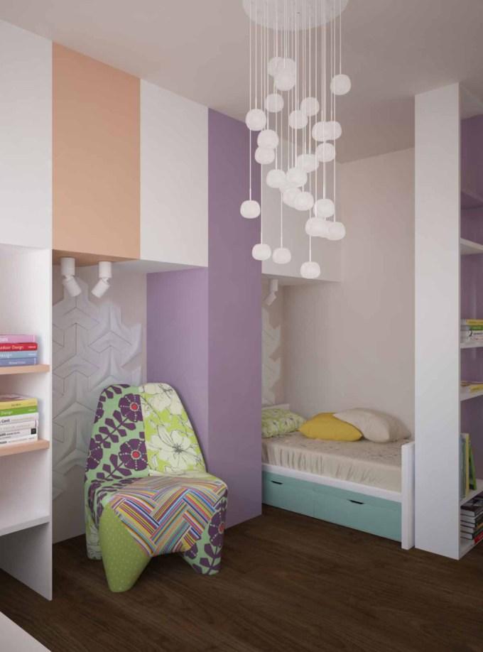 детская спальня вид 3