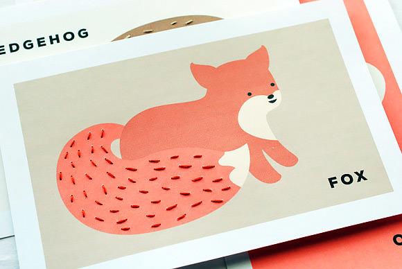 Милые вышитые открытки. Сделайте вместе с детьми и подарите близким!