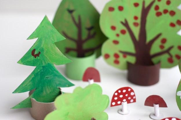 артонный лес для детей5