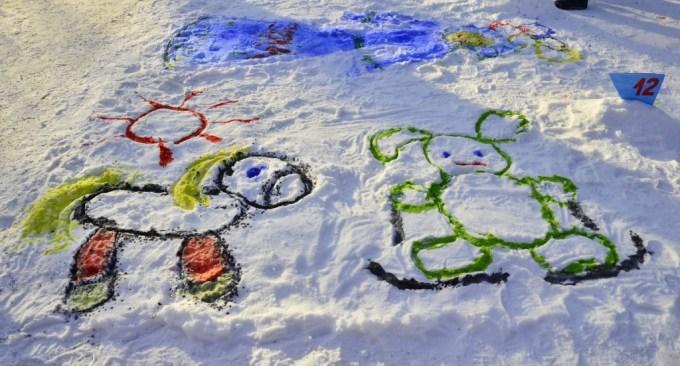 zabavy zimoy risunk