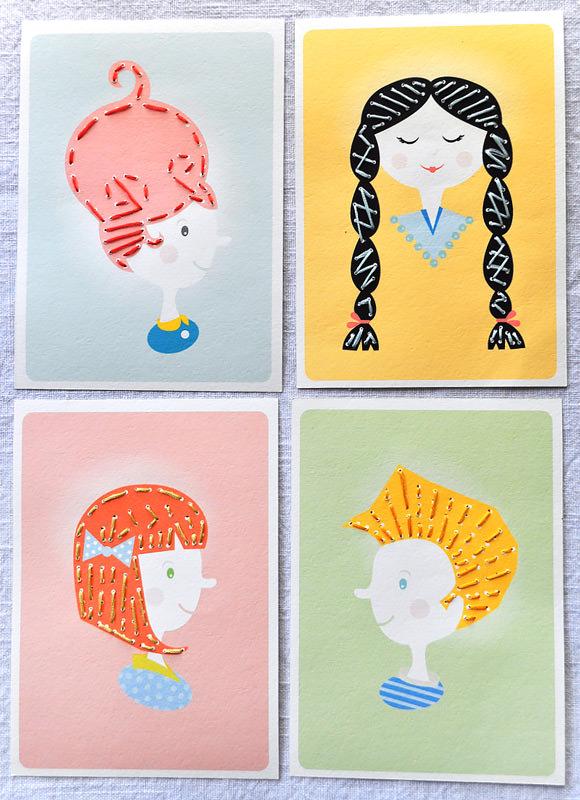 вышитые открытки4