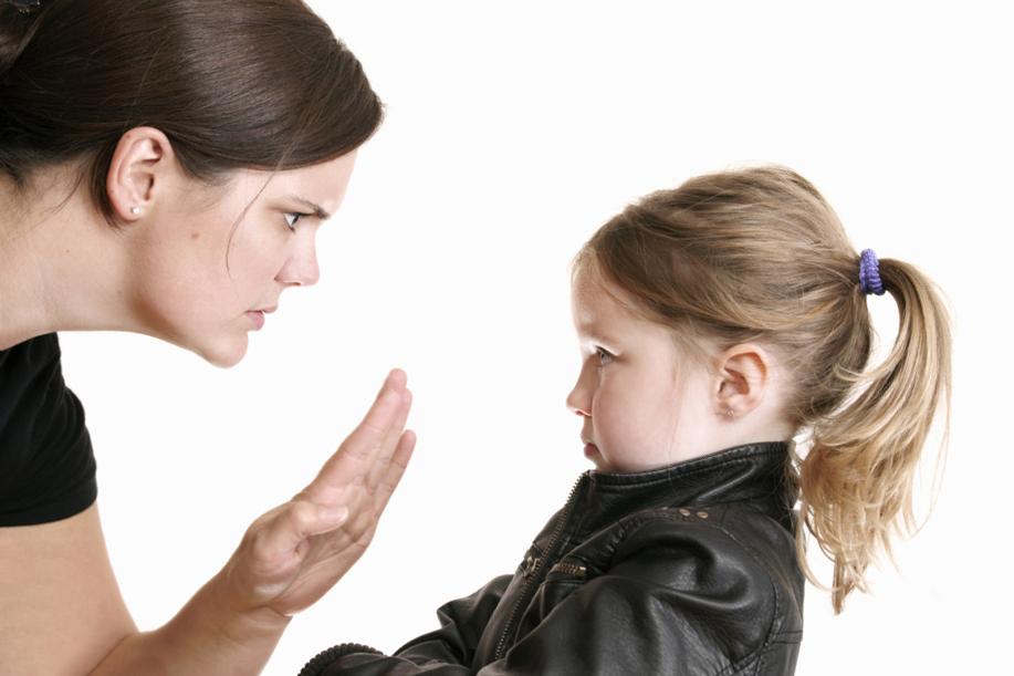 Реакция на капризы ребенка