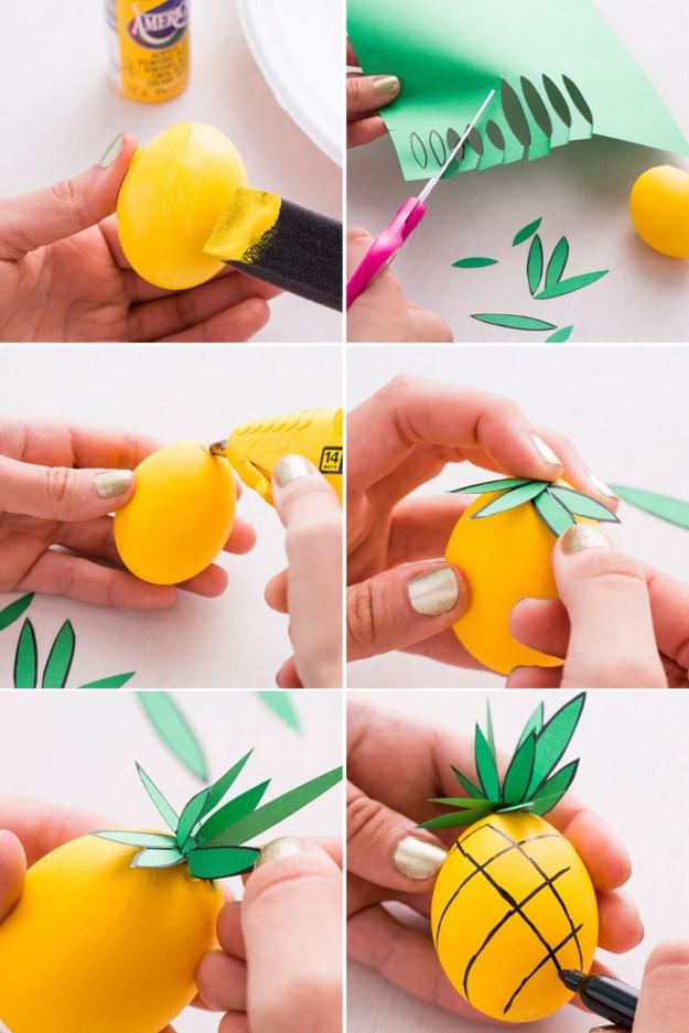 ананас из яйца