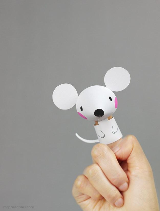 бумажные игрушки своими руками6