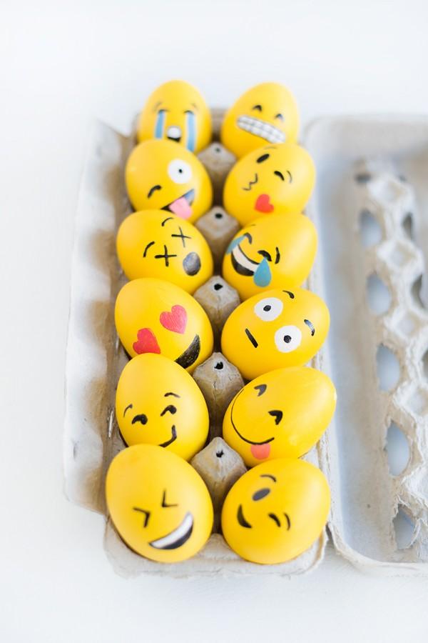 эмоциональные пасхальные яйца