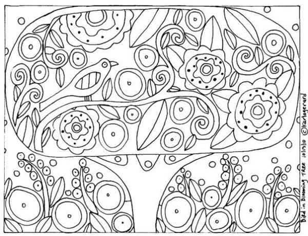 раскраски Карла Жерар 6