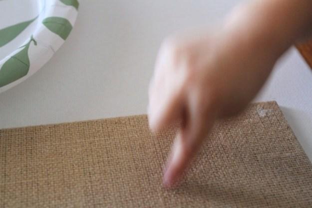 рисуем пальцами