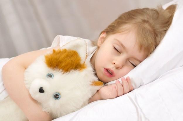 сколько спать детям