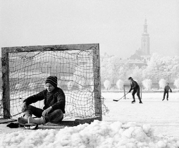 Зимний хоккей