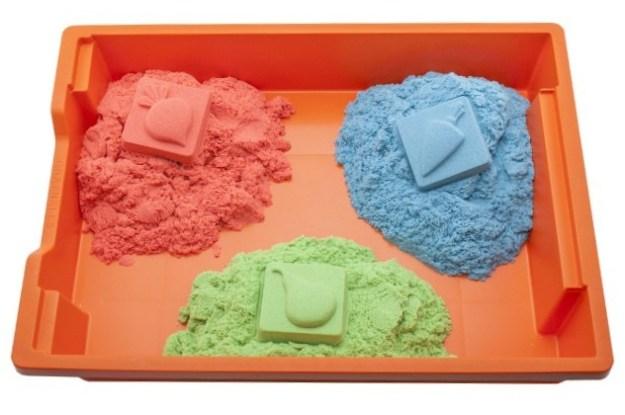 кинетический песок 5