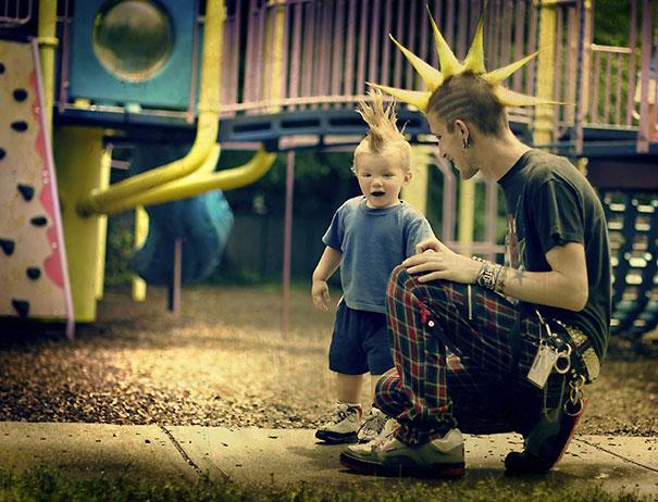 папа и сын (9)