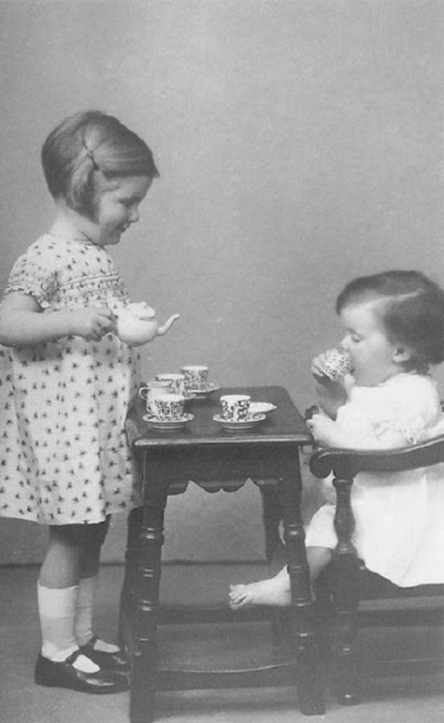 Игрушечный детский сервиз, 1930 год