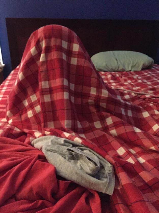 дети под одеялом