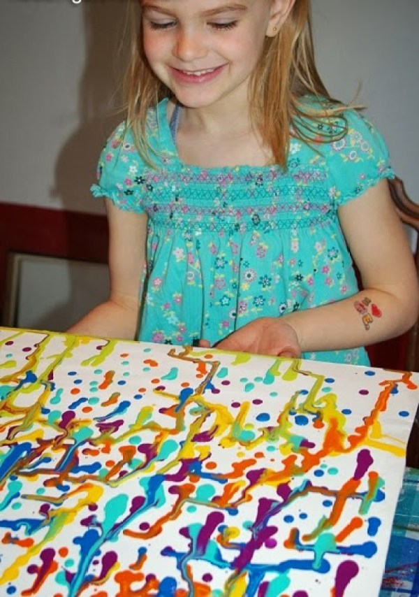 текущее рисование детям
