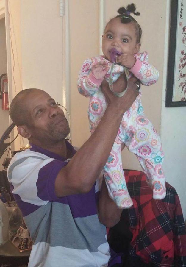 внучка и дед