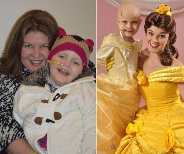 8 летняя девочка после рака