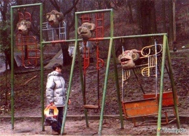 чудовищные детские площадки