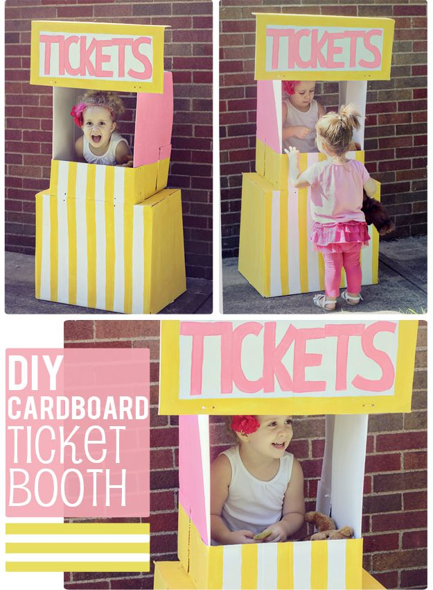 Киоск для продажи билетов или лимонада