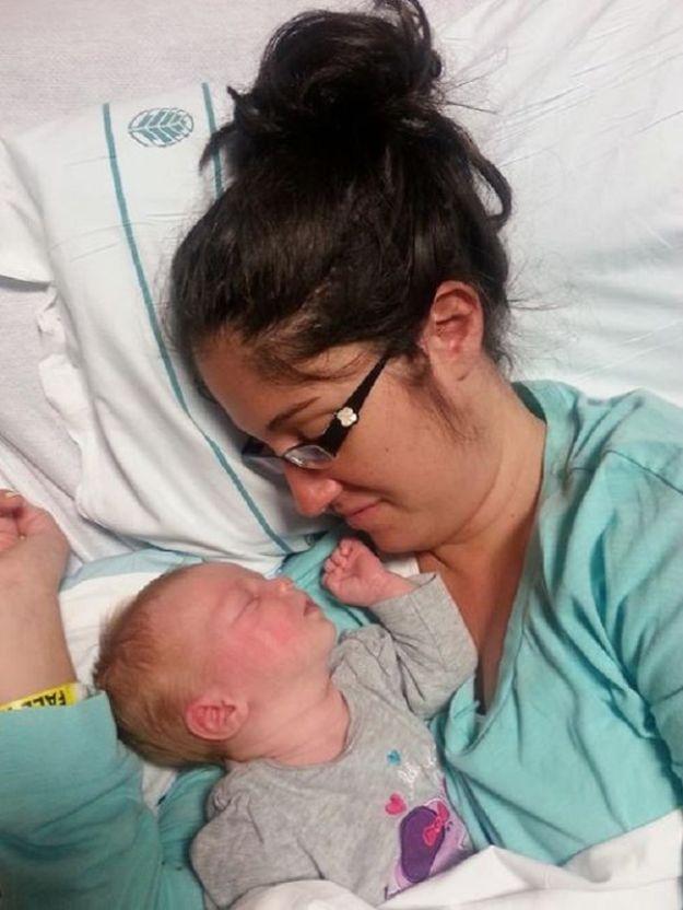 мама и дочь в больнице