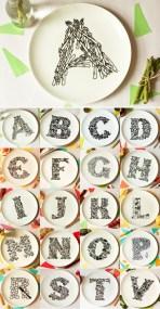 10 идей для создания алфавита в детской комнате. Креативно и полезно