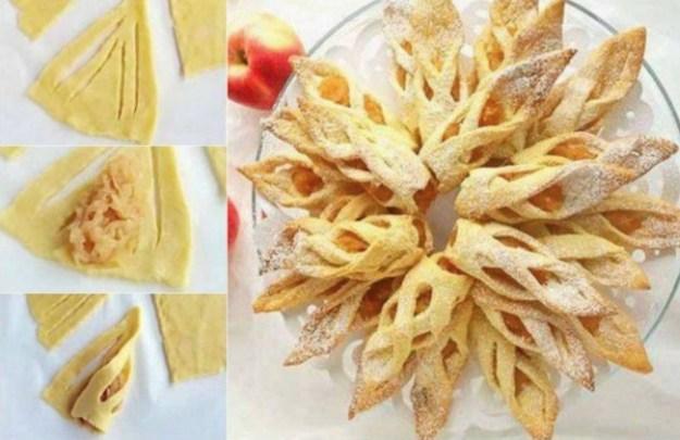 Яблочное печенье Сосульки