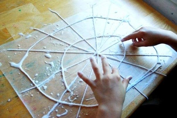 Как сделать паутину своими руками фото 822