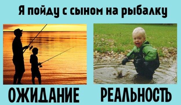 дети ожидания отца