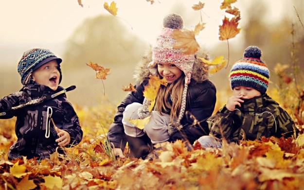 осенняя фотосессия с детьми