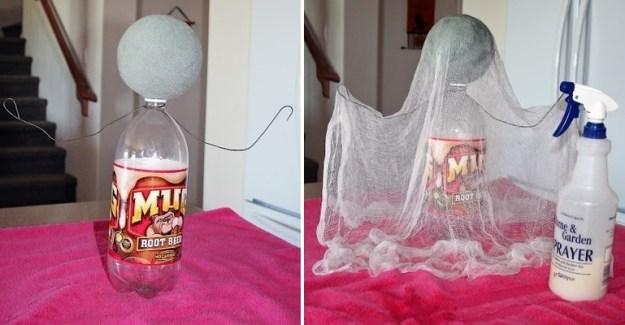 привидения на Хеллоуин