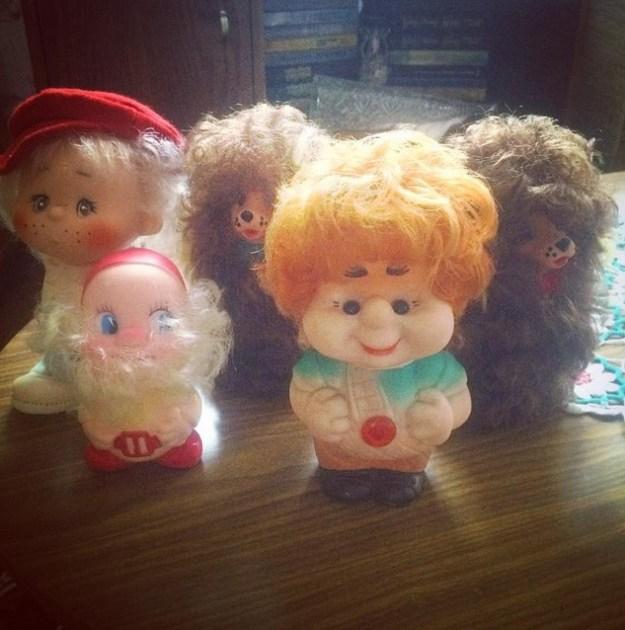 Резиновые игрушки точно были у всех!