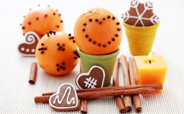 Апельсинки с гвоздикой - придадут аромат