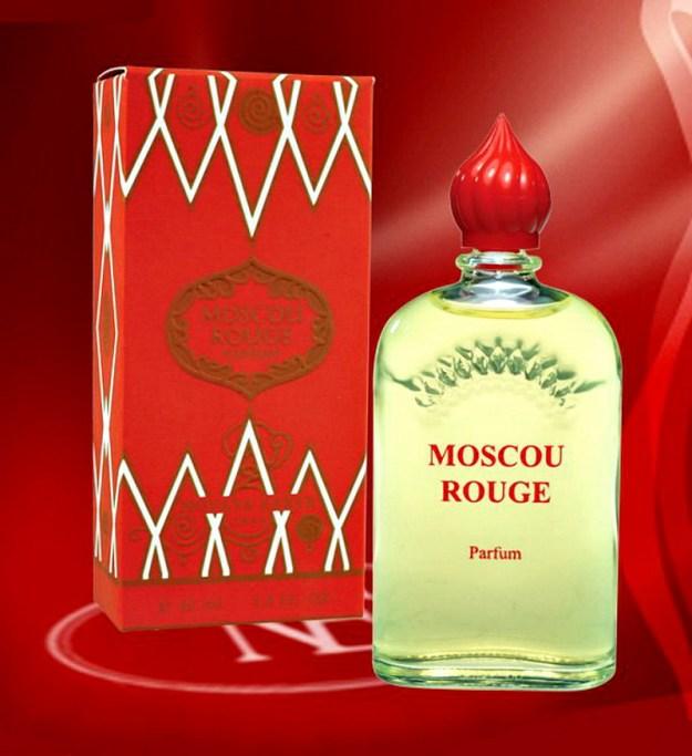 Духи Красная Москва, созданные парфюмером Августом Мишелем в 1913 году