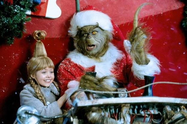 Гринч – похититель Рождества (США, Германия, 2000). Еще одна классная семейная комедия с неподражаемым Джимом Кэрри